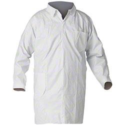 LAB COAT WHITE 2XL 100/CS