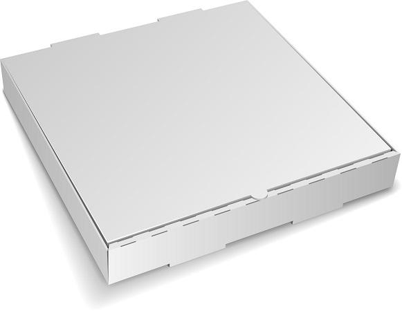 "PIZZA BOX PLAIN SQUARE 11"" X 11"" X 2"" 50/BUNDLE"
