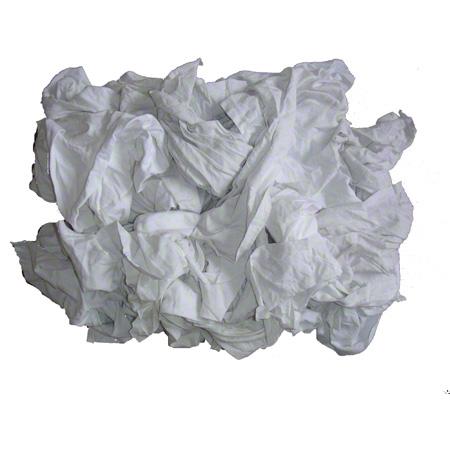 CLOTH GANZIES WHITE 25LBS/BAG